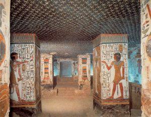 Tumba Nefertari. Valle de las Reinas.