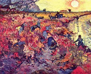 """La viña roja"" Van Gogh"