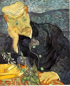 """Retrato de El doctor Paul Gachet"""" Van Gogh"""
