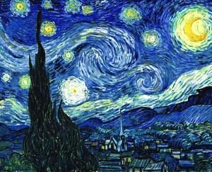 """""""La noche estrellada"""" Van Gogh"""