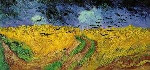 """""""Campo de trigo con cuervos"""" Van Gogh"""