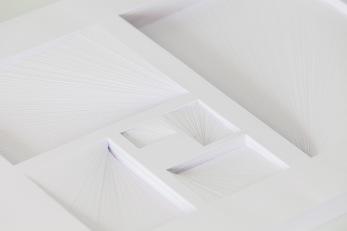 MM Fibonacci. Estudio de papel cortado a mano. 21x29,7x2,5cm. 2013