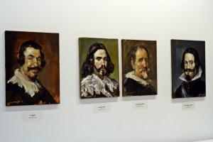 Obras de José Luis Castrillo, de la serie