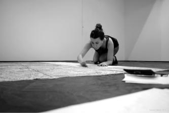 Vanessa Gallardo Proceso de Instalación, Printing a Site