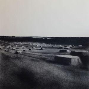 """Irene González """"Espacios en espera"""", 76x76 cm. 2013"""