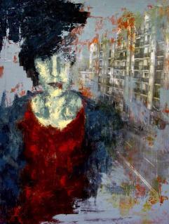 "Virginia Rivas ""Exterior"" 96x130cm. 2007-2008"